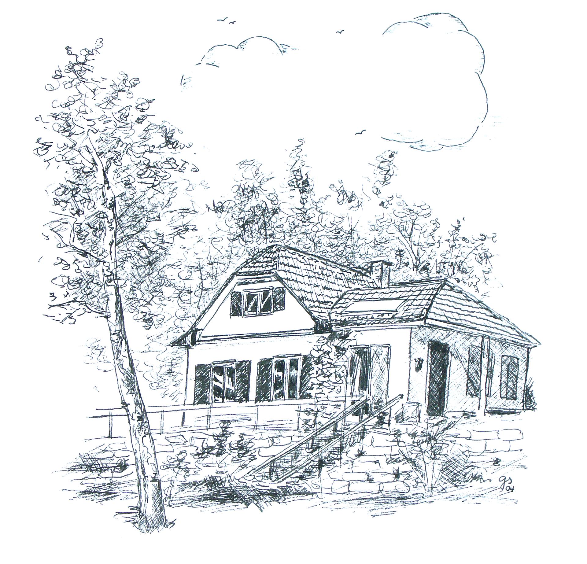 Kornberghütte Drawing