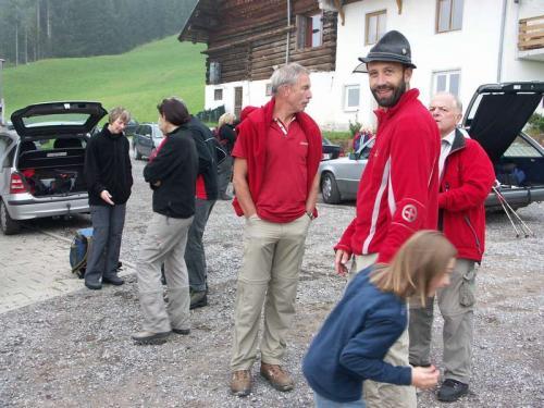 Alpenwanderung 2008