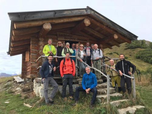 Alpenwanderung Lechtal 2018