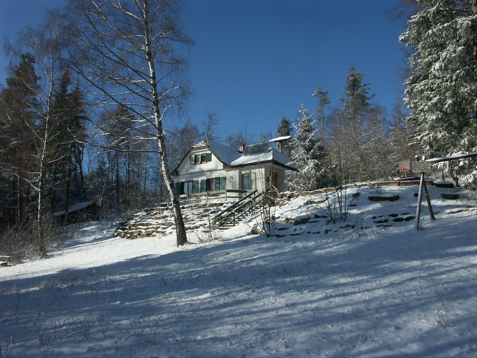 Kornberghütte Winter